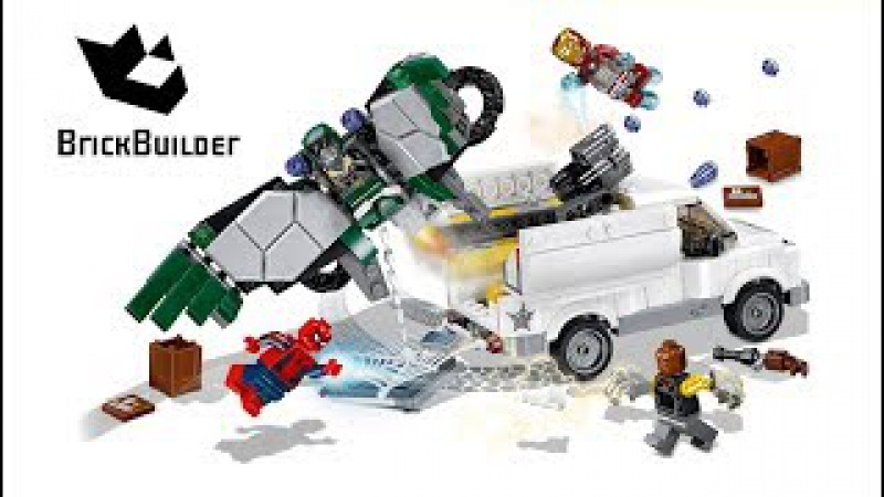 Lego Super Heroes 76083 Beware the Vulture - Lego Speed Build