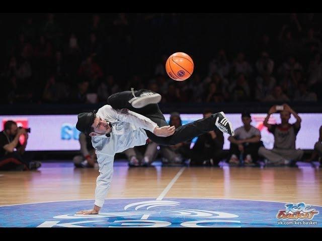 Second International basketball freestyle battle in Russia KES-BASKET FREESTYLE BATTLE