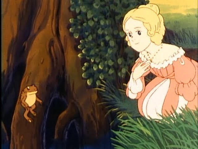 The Grimm's Fairy Tales [Сказки братьев Гримм] (3-4) The Frog Prince [Принц-лягушка] - 1987 (1993) - Япония-США (Nippon Animation), русский дубляж, м/ф
