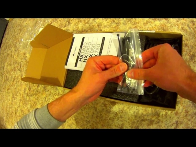 Обзор посылка из Германии computeruniverse блок питания для майнинга corsair hx1000 » Freewka.com - Смотреть онлайн в хорощем качестве