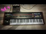 Roland Juno-60 Analog Synthesizer sound-design tutorial - Duran Duran