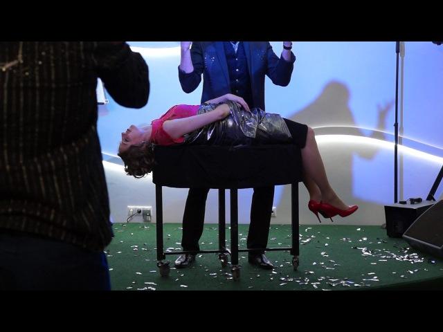 Витторио Фальконе в Людинове Трюк с левитацией