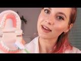 АСМР Школьный ДОКТОР - твой самый приятный Стоматологический осмотр 🛠 ASMR DOCTOR - M...