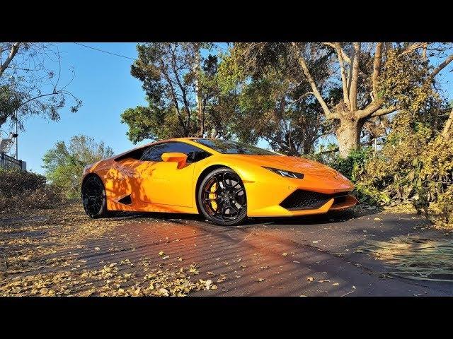 Lamborghini Huracan LP 610-4 Start up Engine Sound Revs Interior Exterior at Lamborghini Miami