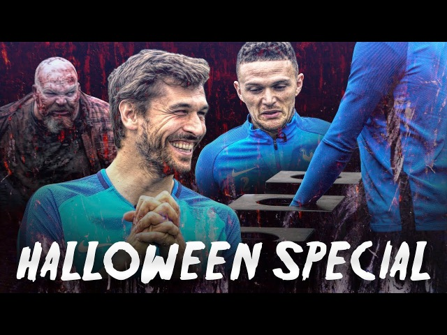 👻 SPURS TV HALLOWEEN SPECIAL 🎃 WHAT'S IN THE BOX? ft DAVIES, TRIPPIER, VORM AND LLORENTE