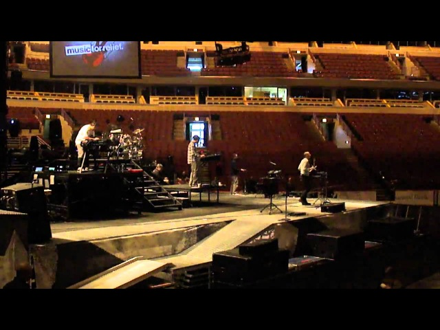Linkin Park Blackout Sound Check Chicago 1262011