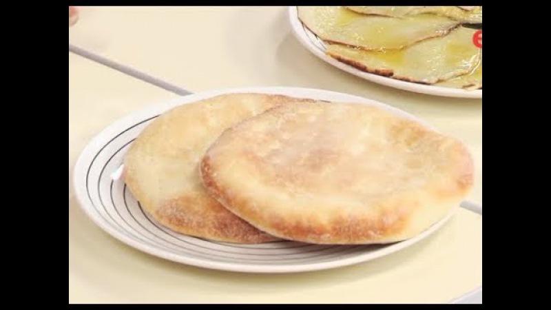 Лепёшки из муки и манки - марокканские манные лепёшки / Илья Лазерсон / Мировой повар