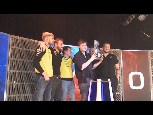 Na`Vi champion 2:0 vs mousesports 🏆 DreamHack Open Winter 2017 champions CyberWins