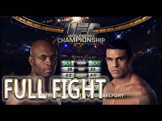Anderson Silva vs Vitor Belfort UFC 126 FULL FIGHT UFC Fight Night Events UFC Result