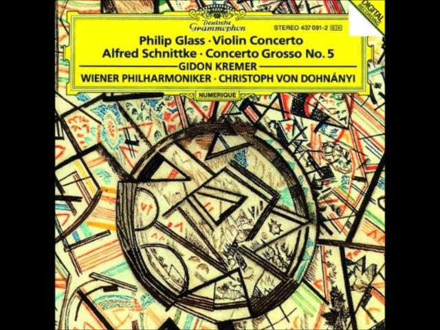 Gidon Kremer ⋅ Philip Glass : Violin Concerto