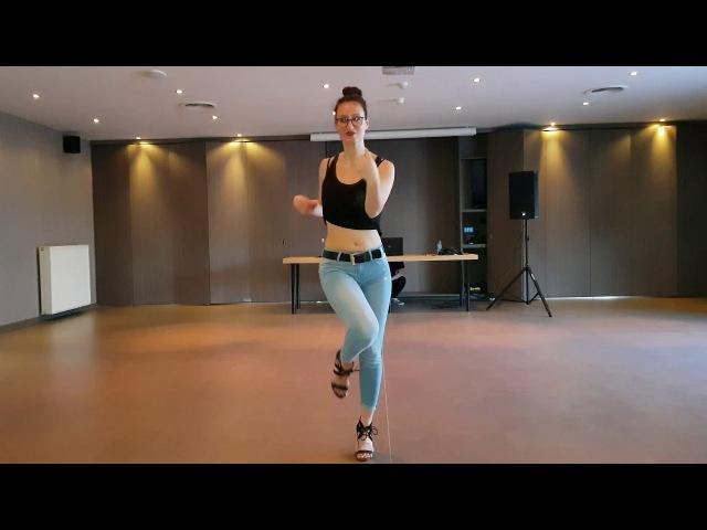 Maylie Baronss, Kizomba Lady Styling @ Universal Kizz Belgium Festival 2018