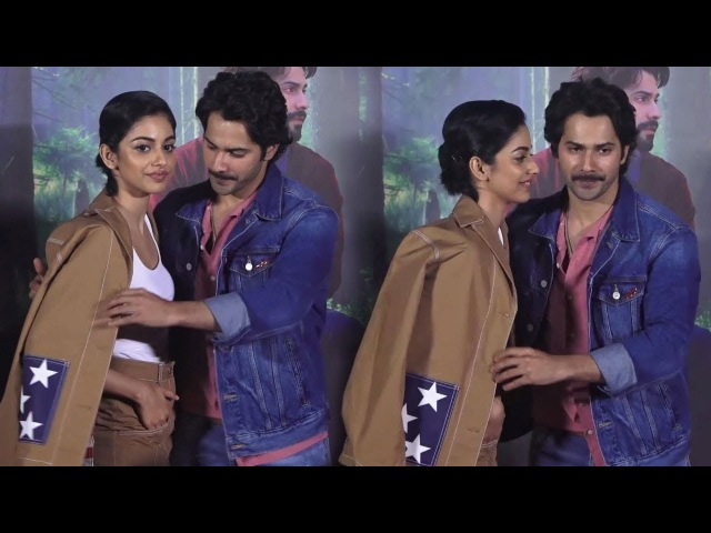Varun Dhawan SAVES His Co-Star Banita Sandhu From OOPS Moment At October Movie Trailer Launch