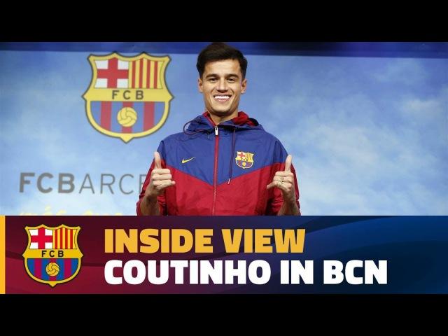 ТРАНСФЕРЫ | Coutinho's first day at Barça
