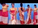 Excellent Sare Wearing Tutorial for beginners Sari draping for best slim look saree wearing tutorial