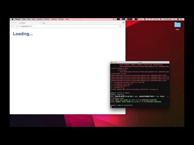 🔻 Angular - Сервисы, RxJs, Observable, Subscribe - Урок 07
