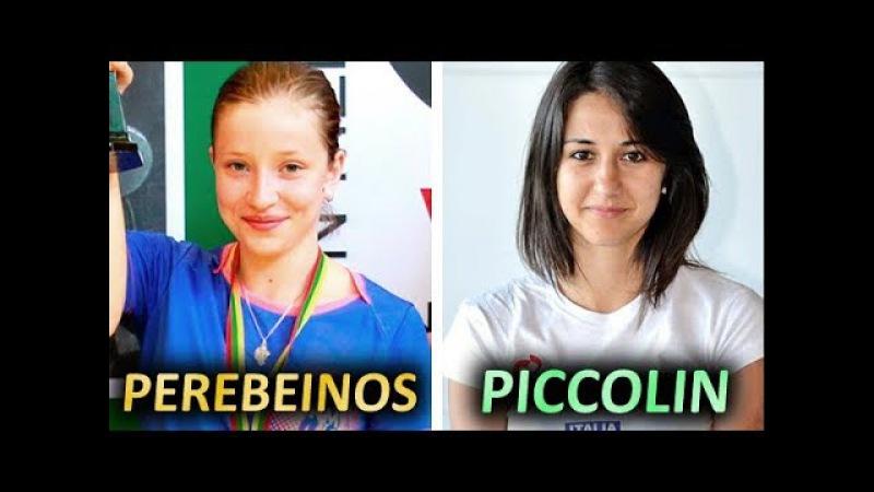 Veronika Perebeinos / Вероника Перебейнос - Giorgia Piccolin at 2017 ITTF Challenge Polish Open