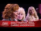 Dolly Parton Surprises Reba McEntire With The Help of Carrie Underwood Opry