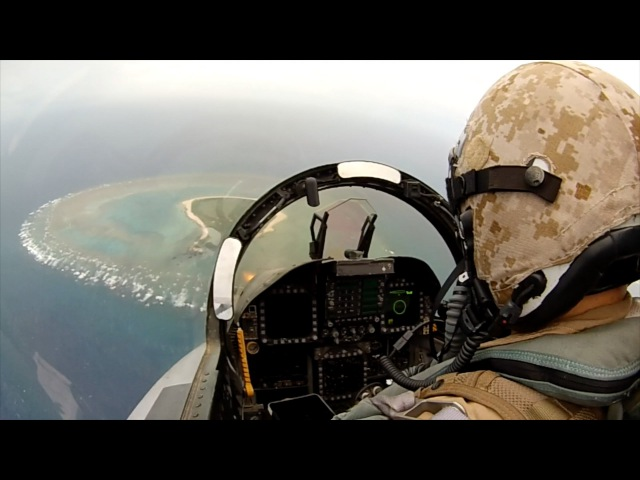 Marine Hornets in Action