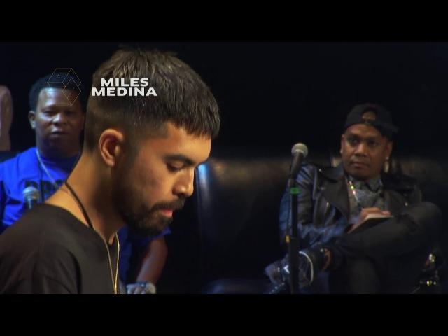 Goldie Awards 2017 Miles Medina DJ Battle Performance