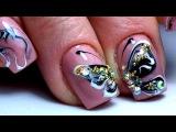 Очень красивый зимний дизайн ногтей Бабочки. ТОП удивителные дизайны ногтей
