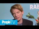 Domhnall Gleeson Responds To Fan Theories About General Hux, Kylo Ren: 'It's Really Cool' | PeopleTV