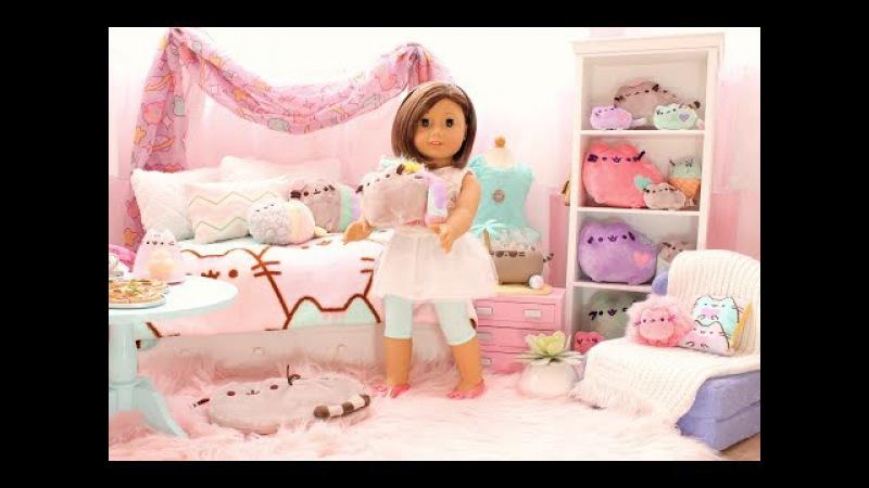 American Girl Doll Pusheen Cat Room