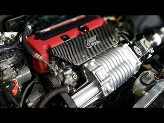 300 WHP Supercharged Acura TSX Engine Overview
