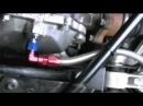 Differential oil cooler about the hose