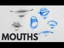 How to Draw Mouths Lips - Tutorial