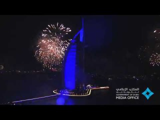 Burj Al Arab New Year Celebrations 2018 - إحنفال رأس السنة في برج العرب ٢٠١٨