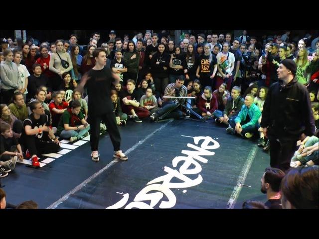 Valera vs Maluga | Male Hip-Hop 1/8 | ENERGY BATTLE |