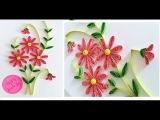 Quilling Flower For beginner Learning Video 2