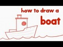 How To Draw A Boat Step By Step Guide Learn Drawing for Kids Kid Education by Mocomi Kids