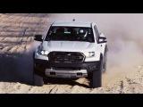 สีขาว! 2018 Ford Ranger Raptor โชว์พละกำลังขับเคลื่อนในโหม&