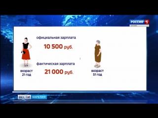 О СЕРЫХ ЗАРПЛАТАХ И ПЕНСИЯХ - ПРОБЛЕМНЫЙ СЮЖЕТ ГТРК