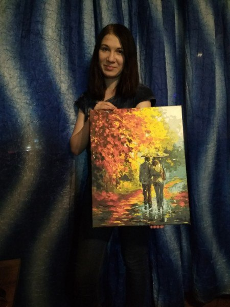 Продам картину ручной работы. Размер холста 40x50 Краски: масло, акрил