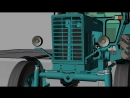Rhino 4 Проект трактора МТЗ 80 УК