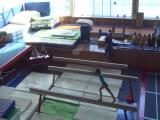 Соревнования по спортивной гимнастике Подарок маме Зарина бревно 3р.