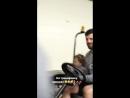Александр Радулов приехал на тренировку с сыном 😊