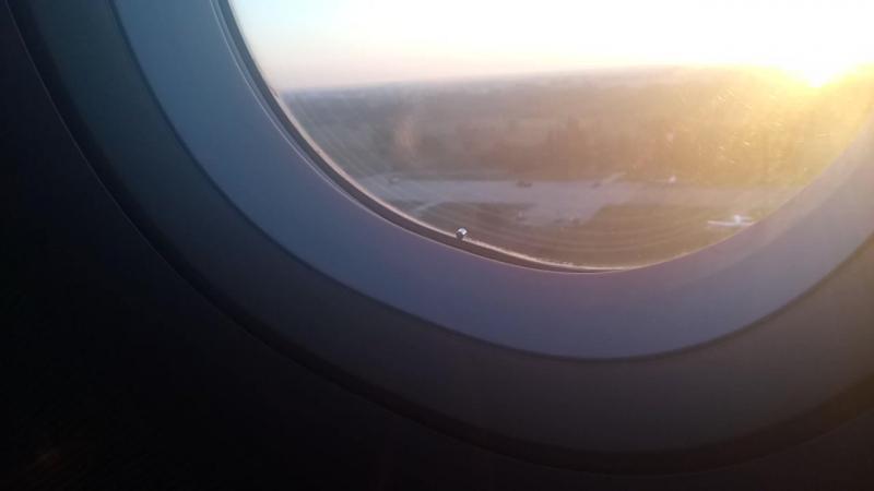 на взлёт Аэропорт Борисполь