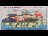 Don Camillo Monsignore... ma non troppo 1961-Carmine Gallone - Fernandel, Gino Cervi, Saro Urz