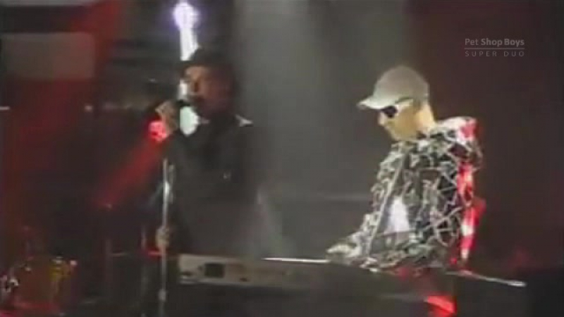 Pet Shop Boys Backstage on Israel TV 20th July 2009 widescreen
