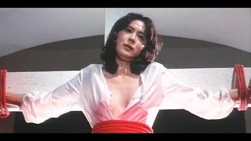 сексуальное насилие и бдсм(bdsm, бондаж, изнасилование,rape, порка) из фильма Shudojo Nure Nawa Zange(Мокрая и связанная) - 1979