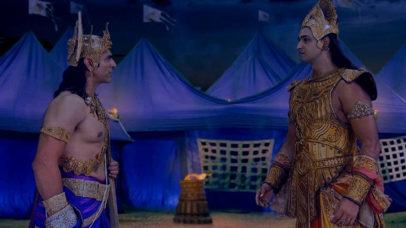 Диалог Кришны и Баларамы из Махабхараты