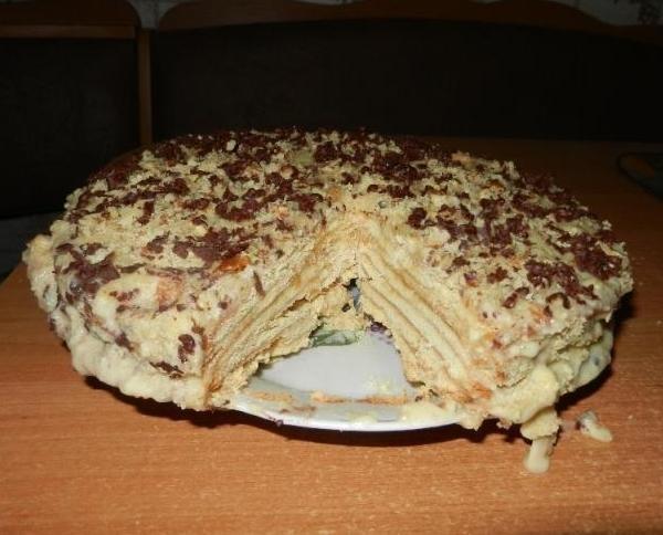 #праздничный_стол@vk1000menu #выпечка@vk1000menu #сгущенное_молоко@vk1000menu Медовый торт со сгущенкой Очень вкусный торт, �...