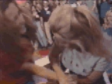 Jenny McCarthy Arm Wrestling