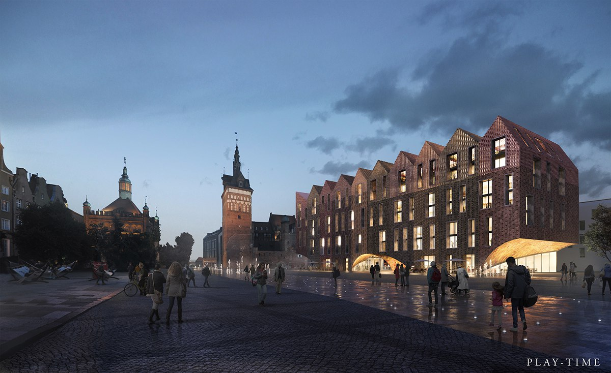 Competition for a Multifunctional Building in Gdansk