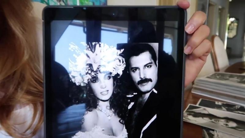 Jane Seymour short talk about Freddie Mercury and Fashion Aid 1985