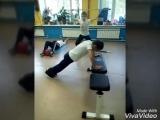 Тренировка КРОССФИТ у мальчишек 9-12 лет в Ф/К