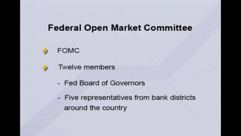 30. The Federal Reserve and Its Powers